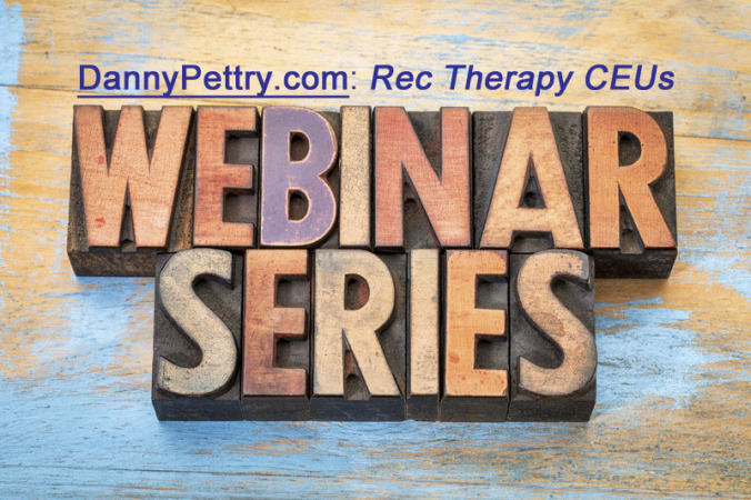 Three (3) Free Rec Therapy Webinars | Rec Therapy Today