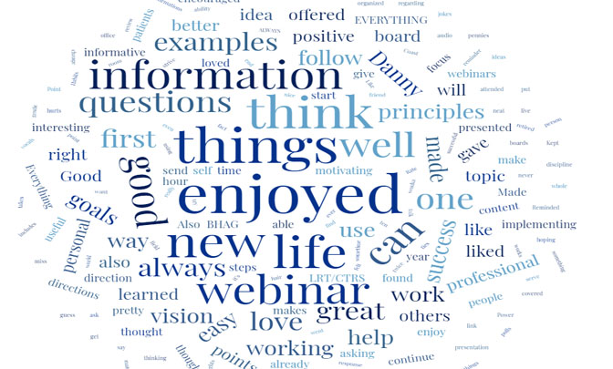 information, think, things, enjoyed, new, life, webinar