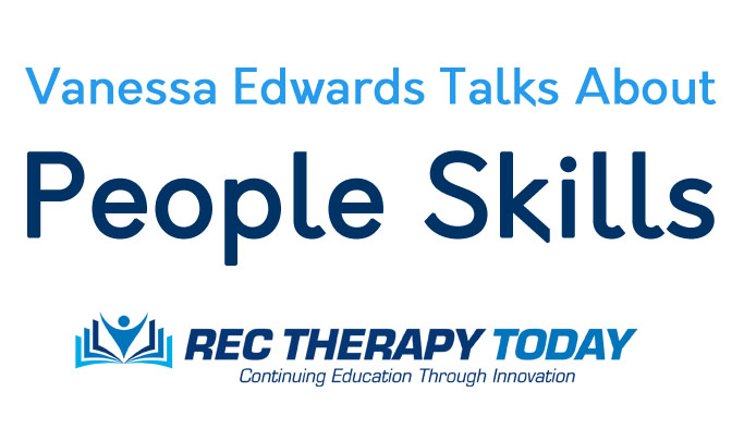 "Vanessa Edwards Talks about ""People Skills"""