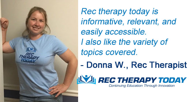 Donna W., Rec Therapist