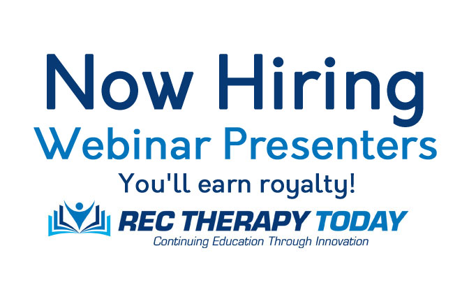 Seeking Webinar Presenters — You'll earn royalty!
