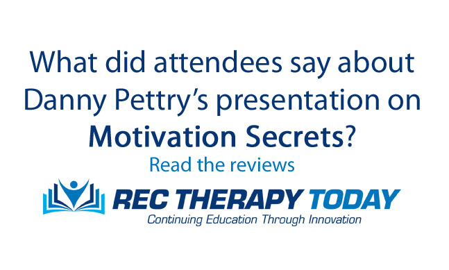 Reviews for Motivation Secrets [webinar] presented by Danny Pettry on Aug. 8, 2019