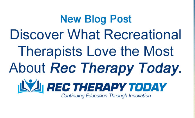 Discover what people like most about Rec Therapy Today!