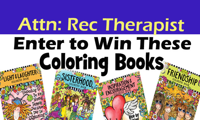 Enter the Sept. 2019 contest — Win a gift pack with four (4) Coloring Books!