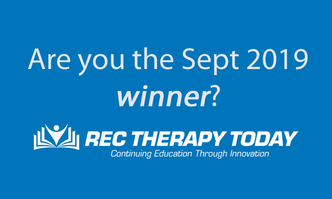 Are you the Sept 2019 winner?
