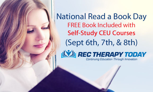Today is National Read a Book Day – FREE Book Included with Courses