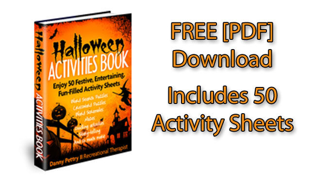 FREE Halloween Activities Book [PDF download] — includes 50 fun-filled pages that you can download and print