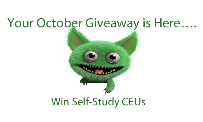 Your October Giveaway is Here….