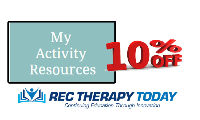 10% Off at My Activity Resources.