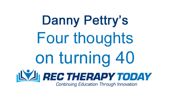 Four thoughts on turning 40