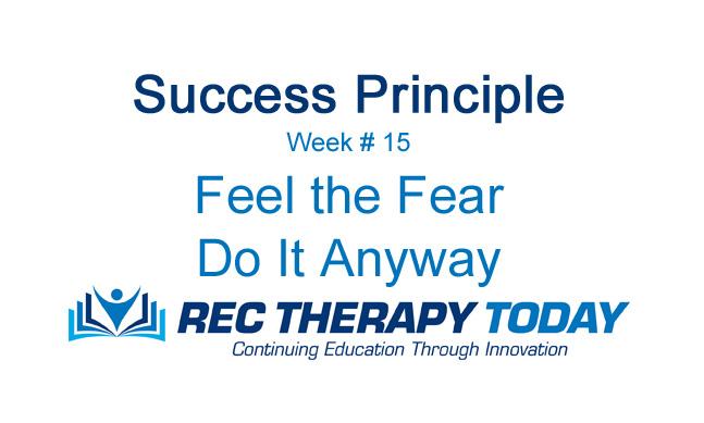 Feel the Fear — Do It Anyway