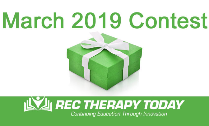 contest for rec therapist