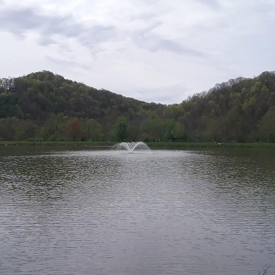 Lake in West Virginia