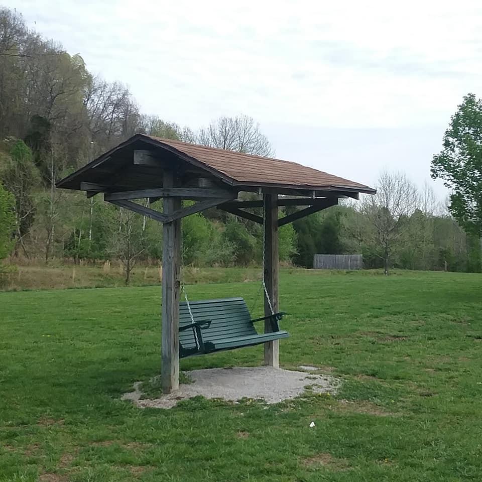 Swing at park