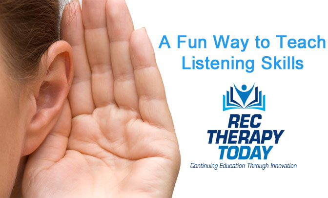 A Fun Way to Teach Effective Listening Skills — Group activity idea