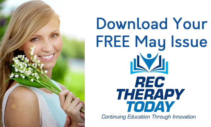 FREE Issue of Rec Therapy Today