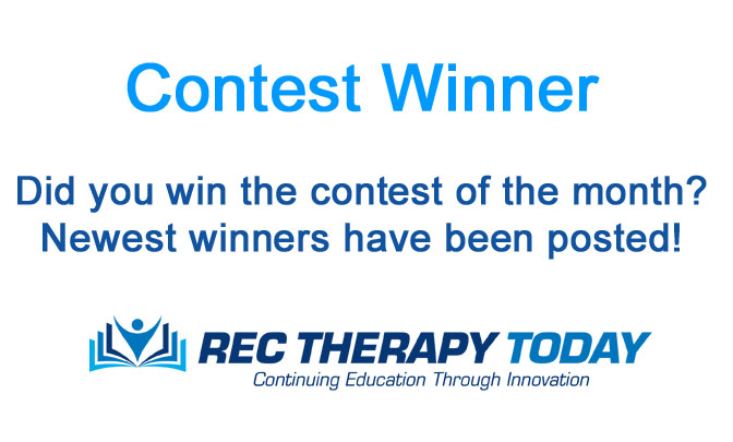 Recreational Therapy Contest