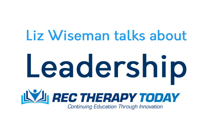 Liz Wiseman talks about Leadership — videos