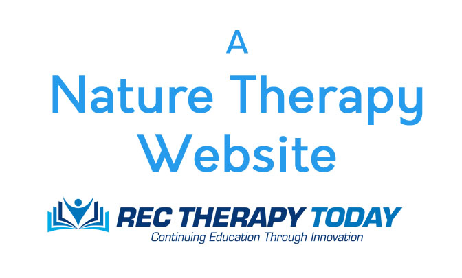 An interesting Nature Therapy web-site