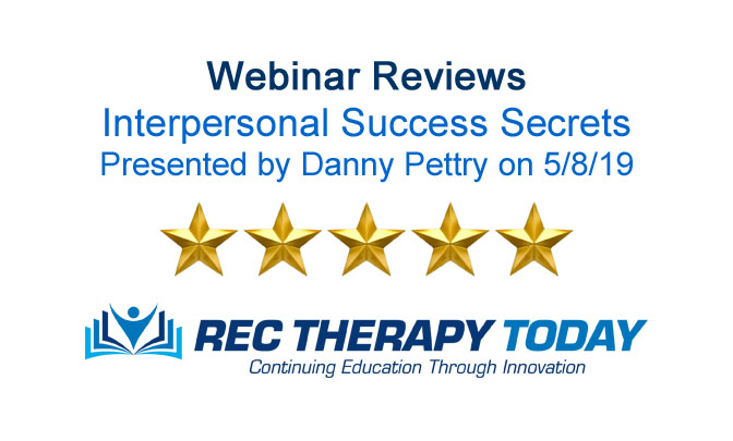 Rec Therapy Today Reviews