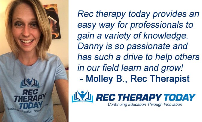 Molley B., Rec Therapist