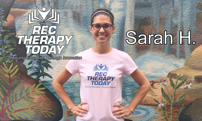 Rec Therapy Today - Contest Winner