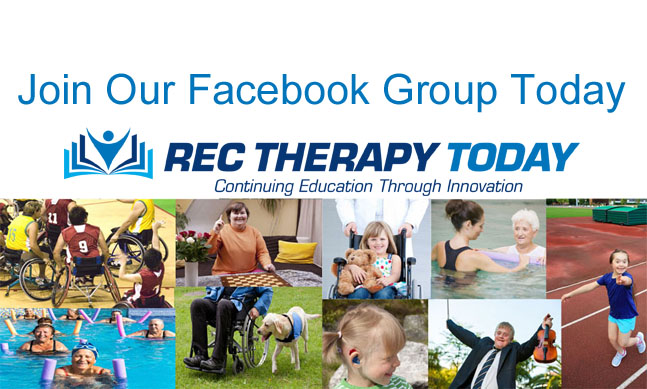 Join Rec Therapy Today on Facebook