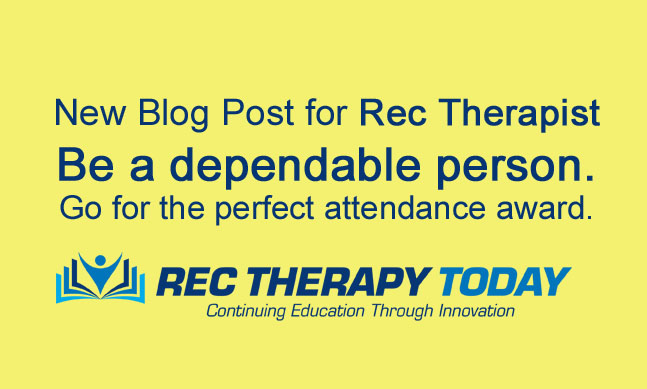 Recreational Therapy attendance