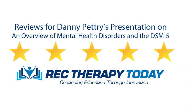 "Review for Webinar on ""An Overview of Mental Health Disorders and the DSM-5"""