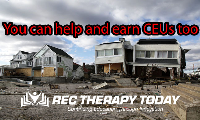 You can help and earn CEUs too