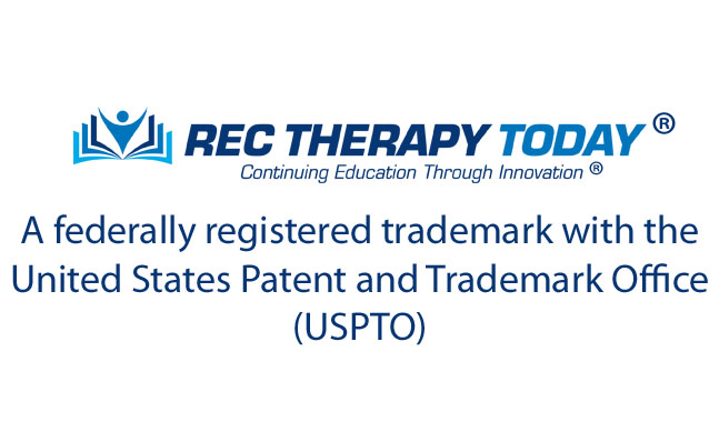 Rec Therapy Today federally registered trademark