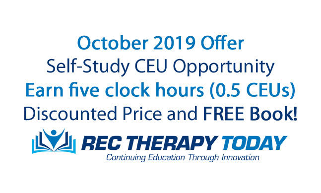 CEU Course of the month: easily earn five clock hours of continuing education