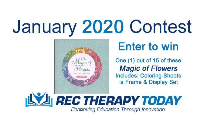 January 2020 Sweepstakes — Color Cards and Display Frame — and CEUs