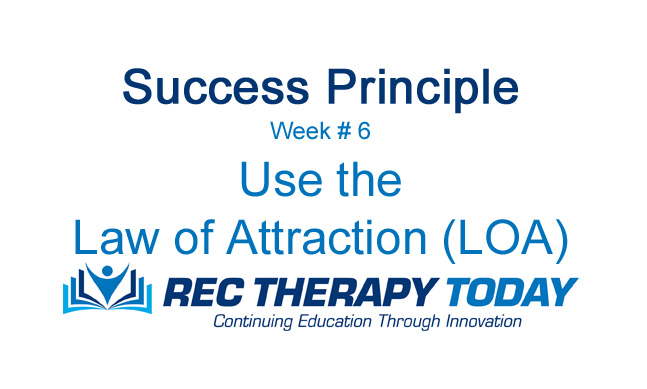 Use the Law of Attraction (LOA).