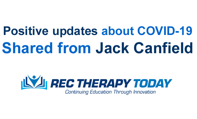 Positive updates about COVID-19