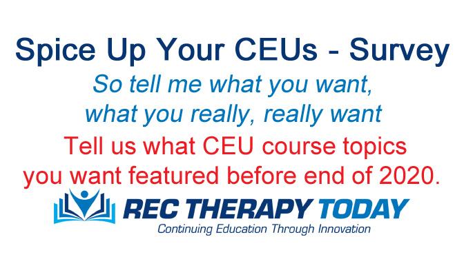 Spice Up Your Life — CEU Survey