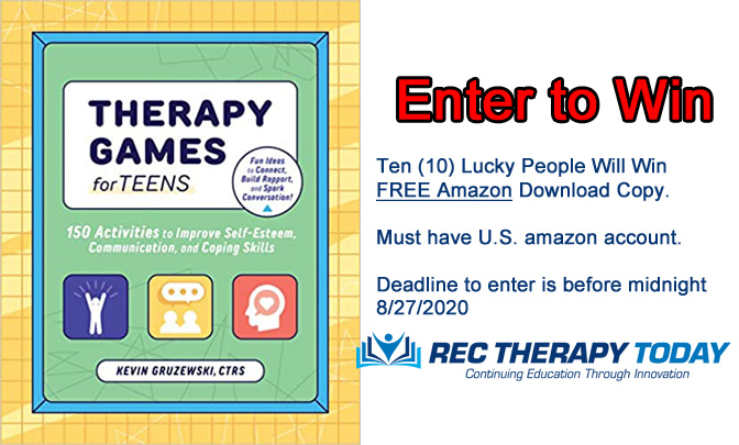 Enter for Chance to Win — Therapy Games for Teens — Amazon download