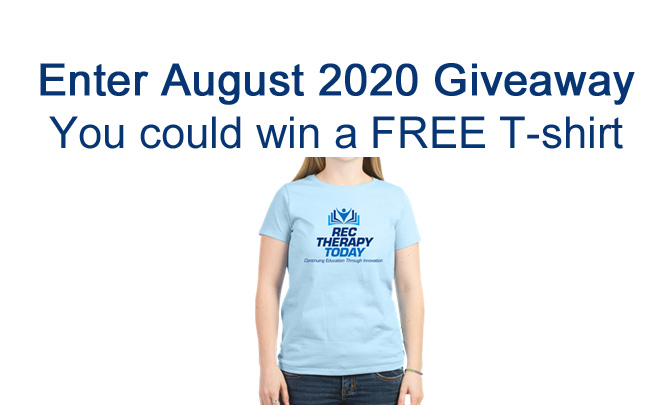 Enter August 2020 Giveaway