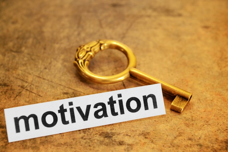 The most motivational word is…