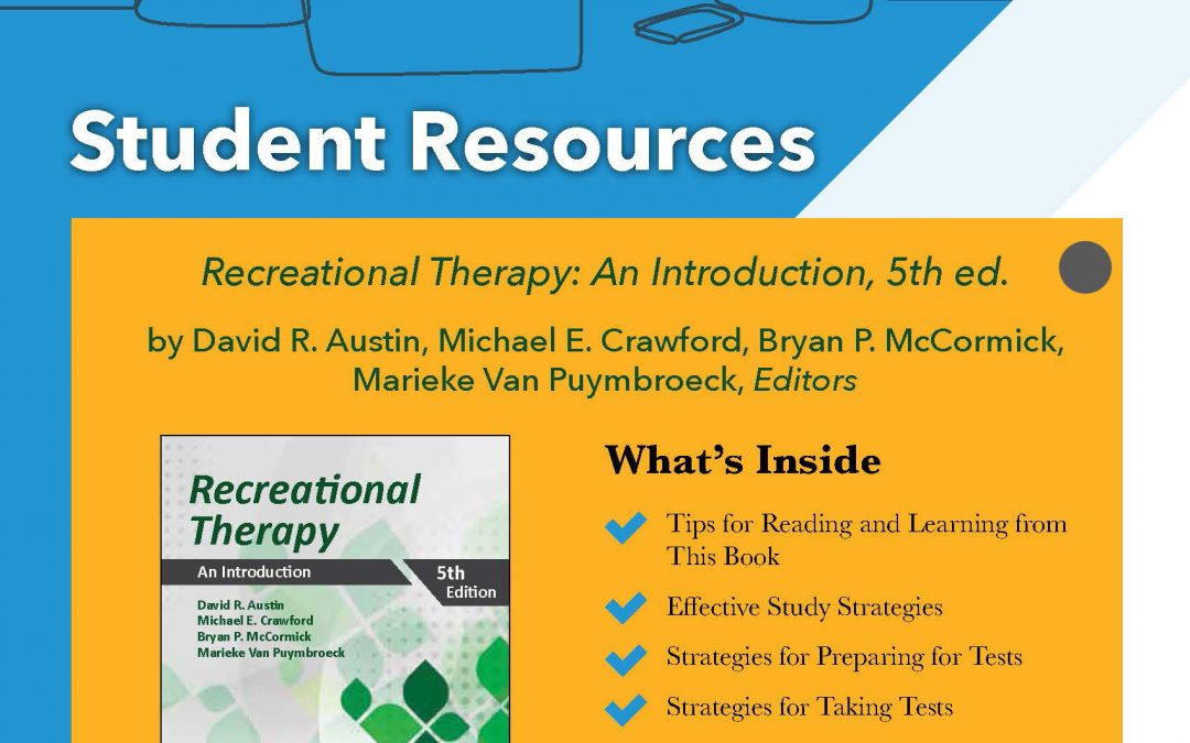 NEW: Recreational Therapy, 5th edition