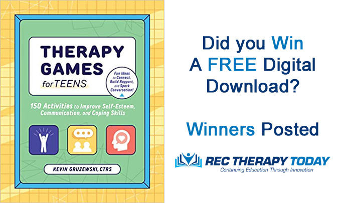 Did You Win Therapy Games for Teens — Digital Download?