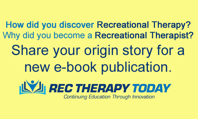Share Your RT/TR Origin Story for a e-book publication.