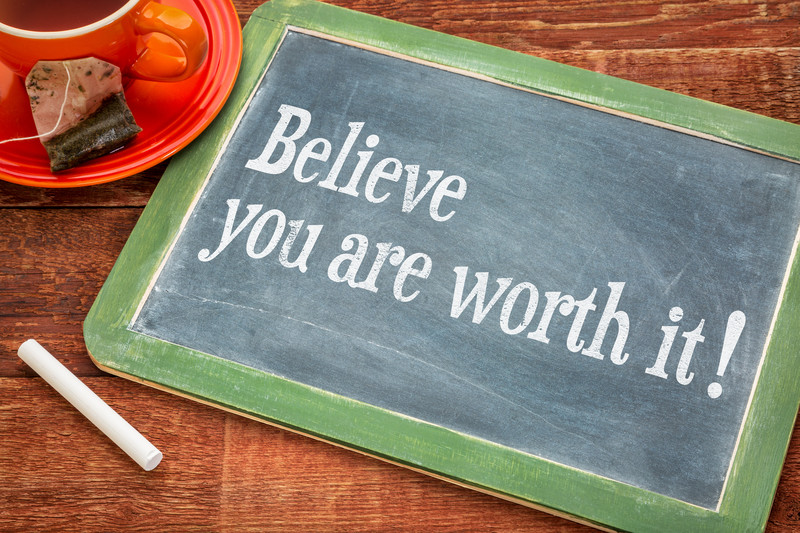 You're worth it…. (message from an 11-year-old)