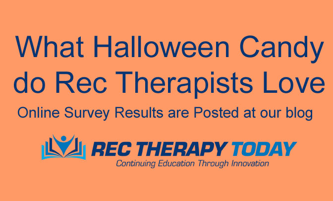 What Halloween Candy do Rec Therapists Love? Find out at our blogpost: